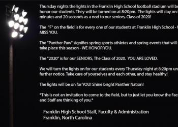 franklin high school thursday night lights